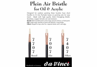 da Vinci Plein Air Bristle Flat Brush Series-7007