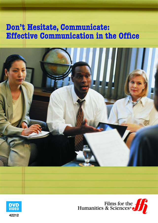 effective office communication Good working relations: effective communication at workplace helps in the establishment of good working and interpersonal relationships among co-workers, subordinates and superiors a good conversation will develop healthy relations that will increase the productivity and efficiency of the people by reducing conflicts.