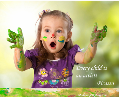 """Every child is an artist"" - Picasso"