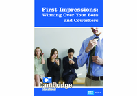 First Impressions: Winning Over Your Boss and Coworkers (Enhanced DVD)