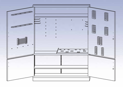 Foundry Tool Storage Cabinet