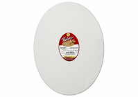 "Fredrix red label 11"" x 14"" (Pure Cotton duck) OVAL Canvas"
