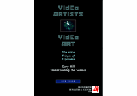 Gary Hill: Transcending the Senses  Video  (DVD)