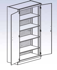 General and Tool Storage Cabinet-35