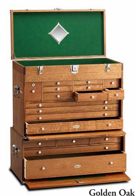 GERSTNER USA 2613 Pro·Series·I Tool & Hobby Chest & B2705  Pro·Series·I Base COMBO - Click to enlarge