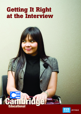 Getting It Right at the Interview (Enhanced DVD)