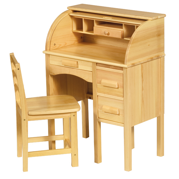 Merveilleux GUIDECRAFT Childu0027s Wooden JR Roll Top Desk (Childrenu0027s Wooden Secretary Desk  U0026 Chair Set)