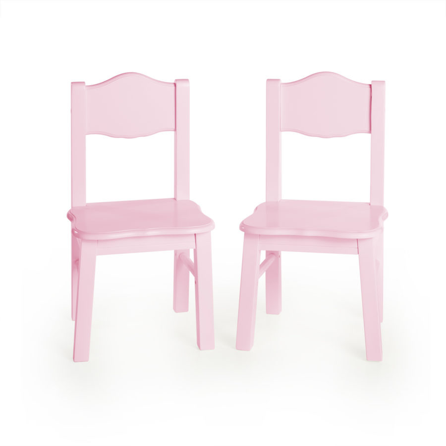 Admirable Guidecraft Classic Extra Chairs Set Of 2 Pink Camellatalisay Diy Chair Ideas Camellatalisaycom