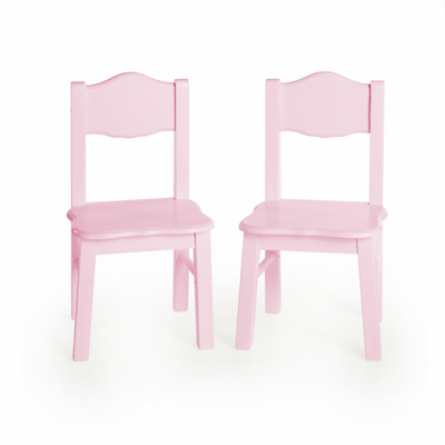 GUIDECRAFT Classic Extra Chairs (set of 2) - Pink