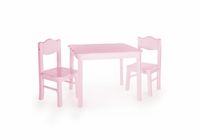 GUIDECRAFT Classic Table & Chair Set - Pink