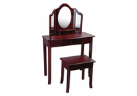 Guidecraft Classic Vanity and Stool