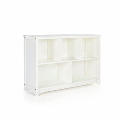 GUIDECRAFT Classic White Bookshelf