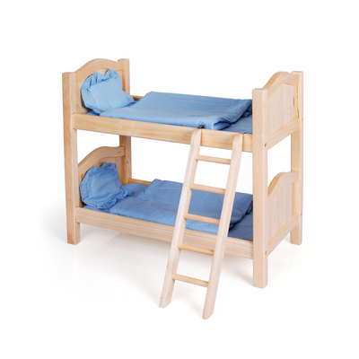 GUIDECRAFT Doll Bunk Bed Natural