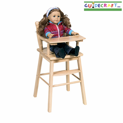 GUIDECRAFT Doll High Chair - Click to enlarge