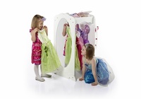 GUIDECRAFT Dress-Up Cubby Center - White