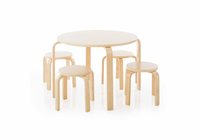 GUIDECRAFT Nordic Table & Chairs -Natural