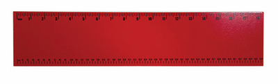 Guidecraft Personalized Wall Art Ruler Red - Click to enlarge