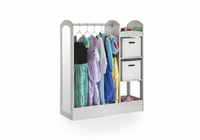 GUIDECRAFT See and Store Dress-Up Center - Grey