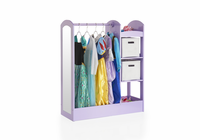 GUIDECRAFT See and Store Dress-Up Center - Lavender