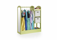 GUIDECRAFT See and Store Dress-Up Center - Light Green