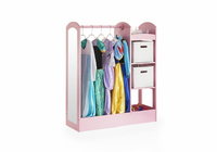 GUIDECRAFT See and Store Dress-Up Center - Pink