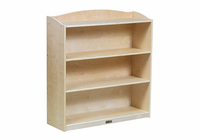 "Guidecraft Sgl Sided Bookcase -36""Hg"