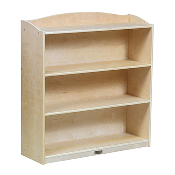 """Guidecraft Sgl Sided Bookcase -36""""Hg"""