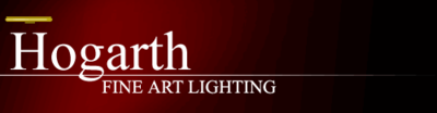 DISCONTINUED Hogarth PICTURE LIGHTS - Fine Art Lighting - Click to enlarge
