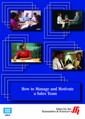 How to Manage and Motivate a Sales Team (Enhanced DVD)