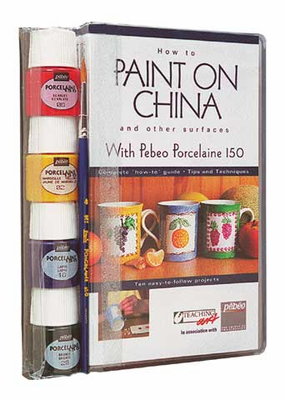 PEBEO How to Paint on China Video Kit (VHS with Paints)