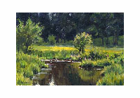 Ian Roberts Art Instruction (DVD): Plein Air Painting (1 hour, Oil)
