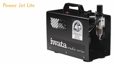 Iwata Studio series POWER JET LITE (2X SPRINT POWER& SMART TECHNOLOGY) Compressor - Click to enlarge