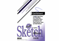 Jack Richeson & Co. Inc. SKETCH PAD, 60 lb., 100 Sheet, 5.5x8.5