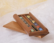 Jack Richeson & Co. Inc. St. Petersburg Watercolor Set of 12 in Wooden Slide Top Box - Click to enlarge
