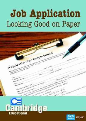 Job Application: Looking Good on Paper (Enhanced DVD)