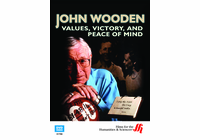John Wooden: Values, Victory, and Peace of Mind (Enhanced DVD)