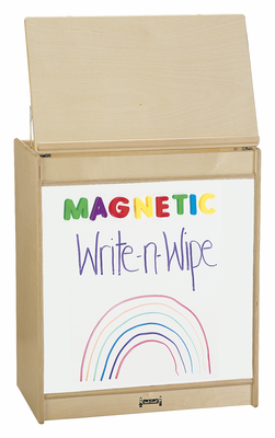 Jonti-Craft® Big Book Easel - Magnetic Write-n-Wipe