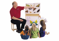 Jonti-Craft� Big Book Easel - Write-n-Wipe