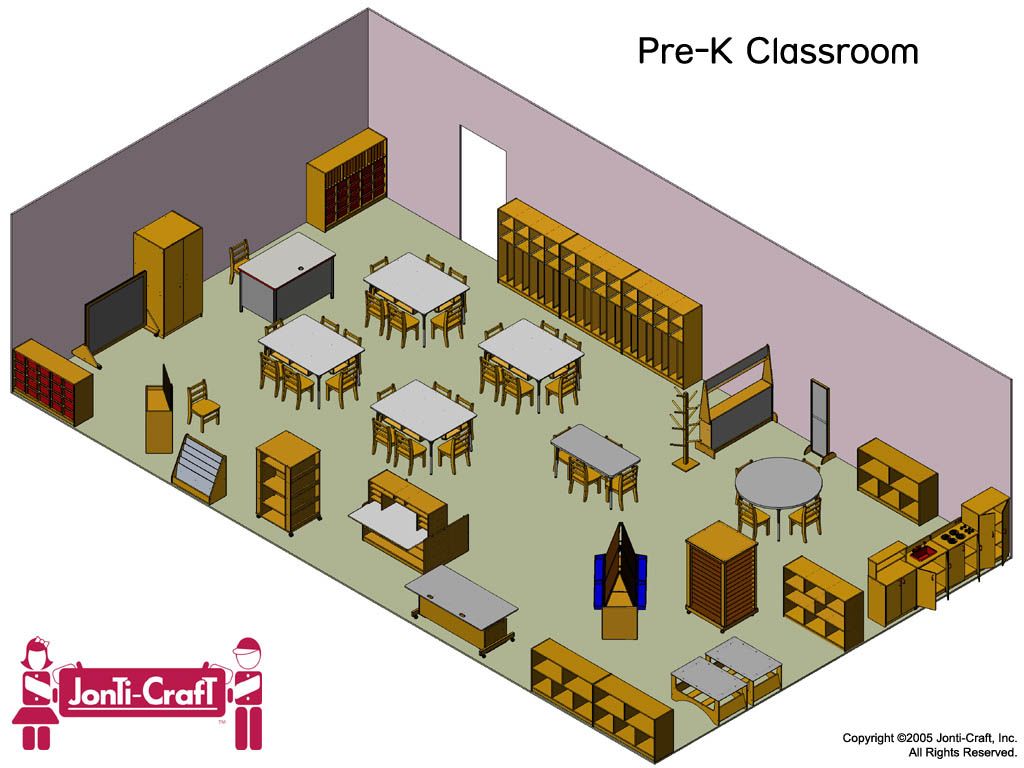 Jonti craft complete kydz classroom for Make a room layout online