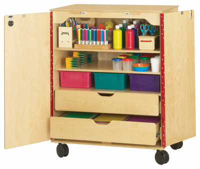 Jonti-Craft® Supply Cabinet - Click to enlarge