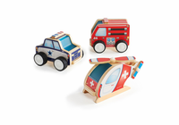 GUIDECRAFT Jr Plywood Community Vehicles