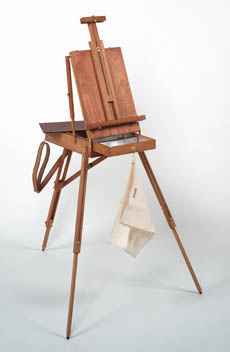 JULLIAN FRENCH EASEL w/Free Carrying Bag (Backpack) - Click to enlarge