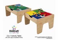 KIDKRAFT 2 in 1 Activity Table Lego compatible