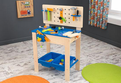 KIDKRAFT Deluxe Workbench with Tools - Click to enlarge