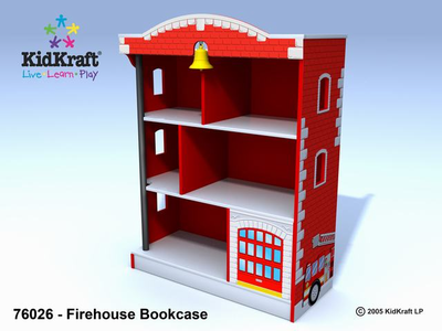 KIDKRAFT Firehouse Bookcase - Click to enlarge