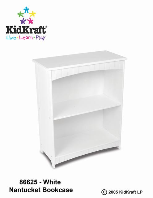 Kidkraft Nantucket 2 Shelf Bookcase
