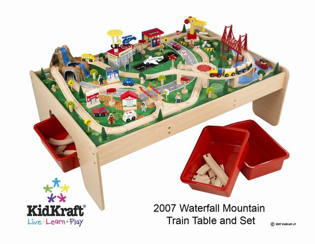 sc 1 st  Madison Art Shop & KidKraft Waterfall Mountain Train Set and Table