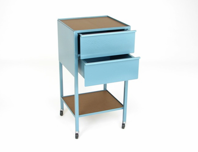 KLOPFENSTEIN 2 Drawer Taboret - Vertical and Horizontal Options - Click to enlarge