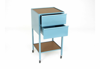 KLOPFENSTEIN 2 Drawer Taboret - Vertical and Horizontal Options