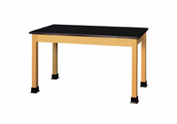 Lab Table - plain - maple top-6 Wt-115